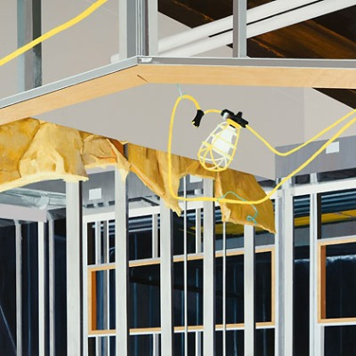"Sarah McKenzie, Fixture, 2010, oil on canvas, 36"" x 36"""